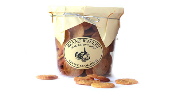 Benne Wafers from Charleston Specialty Foods